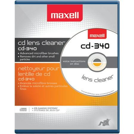 MAXELL 190048 CD/CD-ROM Laser Lens Cleaner (Maxell Cd Lens Cleaner)