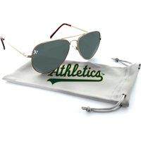 Oakland Athletics Estrada Engraved Aviator Sunglasses - OSFA