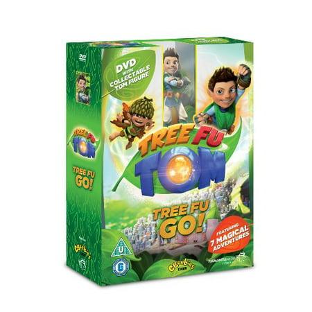 Tree Fu Tom: Tree Fu Go! - Box Set & Tom Figure ( Tree Fu Tom (7 Episodes) ) [ NON-USA FORMAT, PAL, Reg.0 Import - United Kingdom ]](Tree Fu Tom Halloween)