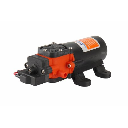 SEAFLO 21-Series Water Pressure Diaphragm Pump - 12V DC, 1.2 GPM, 35 PSI for (Water Pressure Sump Pump)