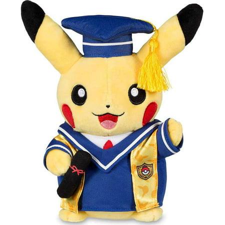 Pokemon Graduate Pikachu Plush [Standard Size]