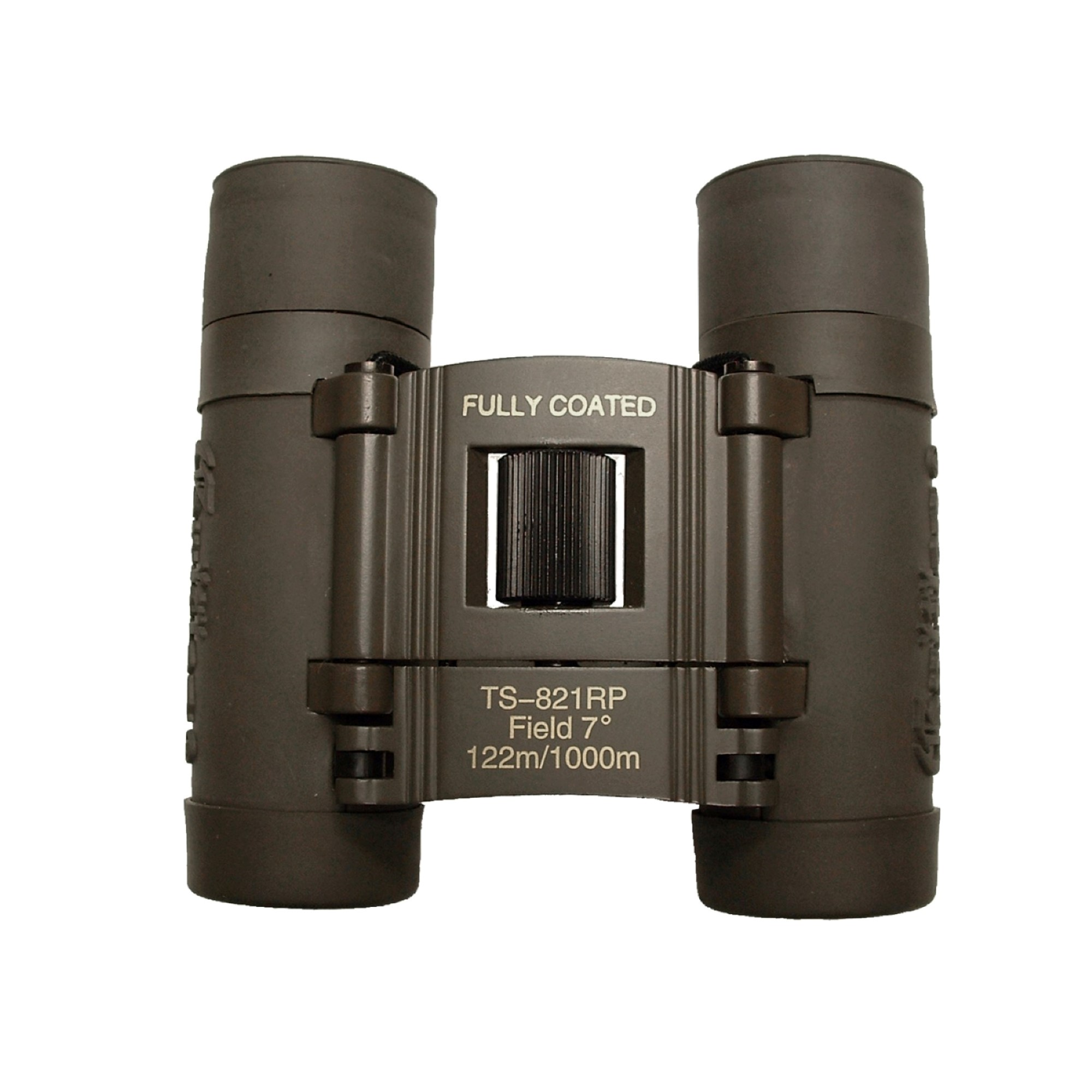 Galileo 8 x 21mm embossed Compact Binocular opens wide and narrow to bring image 10x closer. Case included
