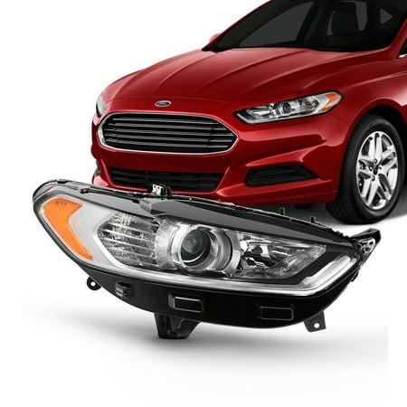 Passenger Right Projector Headlight For 2013-16 Ford Fusion 4Door [Halogen