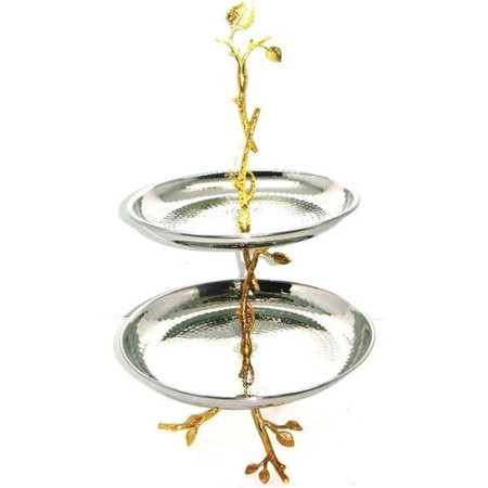 Tier Leaf - Heim Concept Gilt Leaf Tiered Stand
