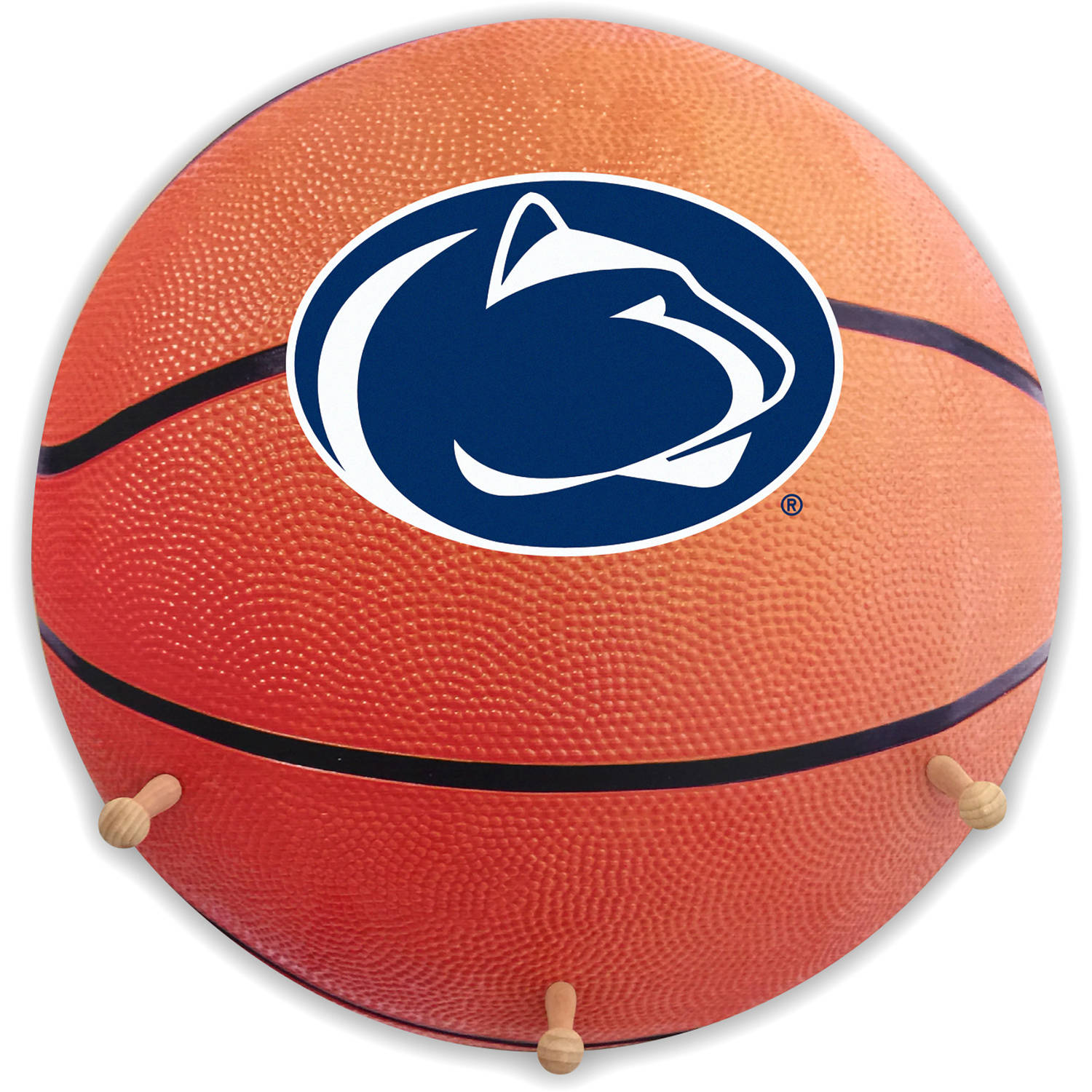 Penn State University Basketball Coat Rack