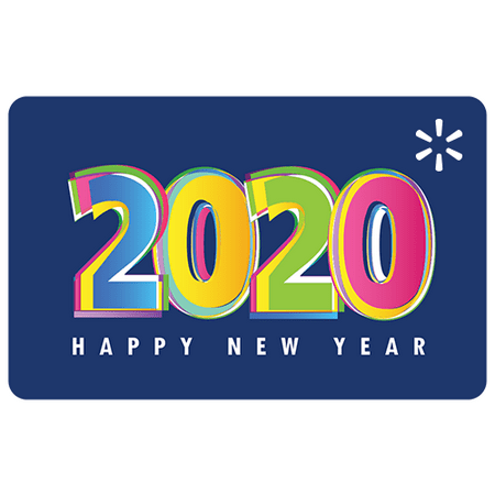 2020 Graphic Walmart eGift Card
