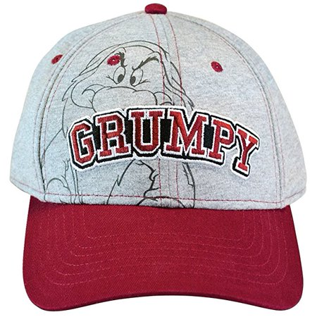 Mens Hat Grumpy Baseball Cap W20
