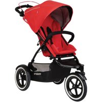 Phil & Teds Sport Inline Stroller (Cherry)