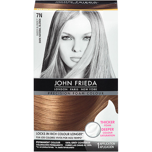 John Frieda Precision Foam Colour, Dark Natural Blonde 7N