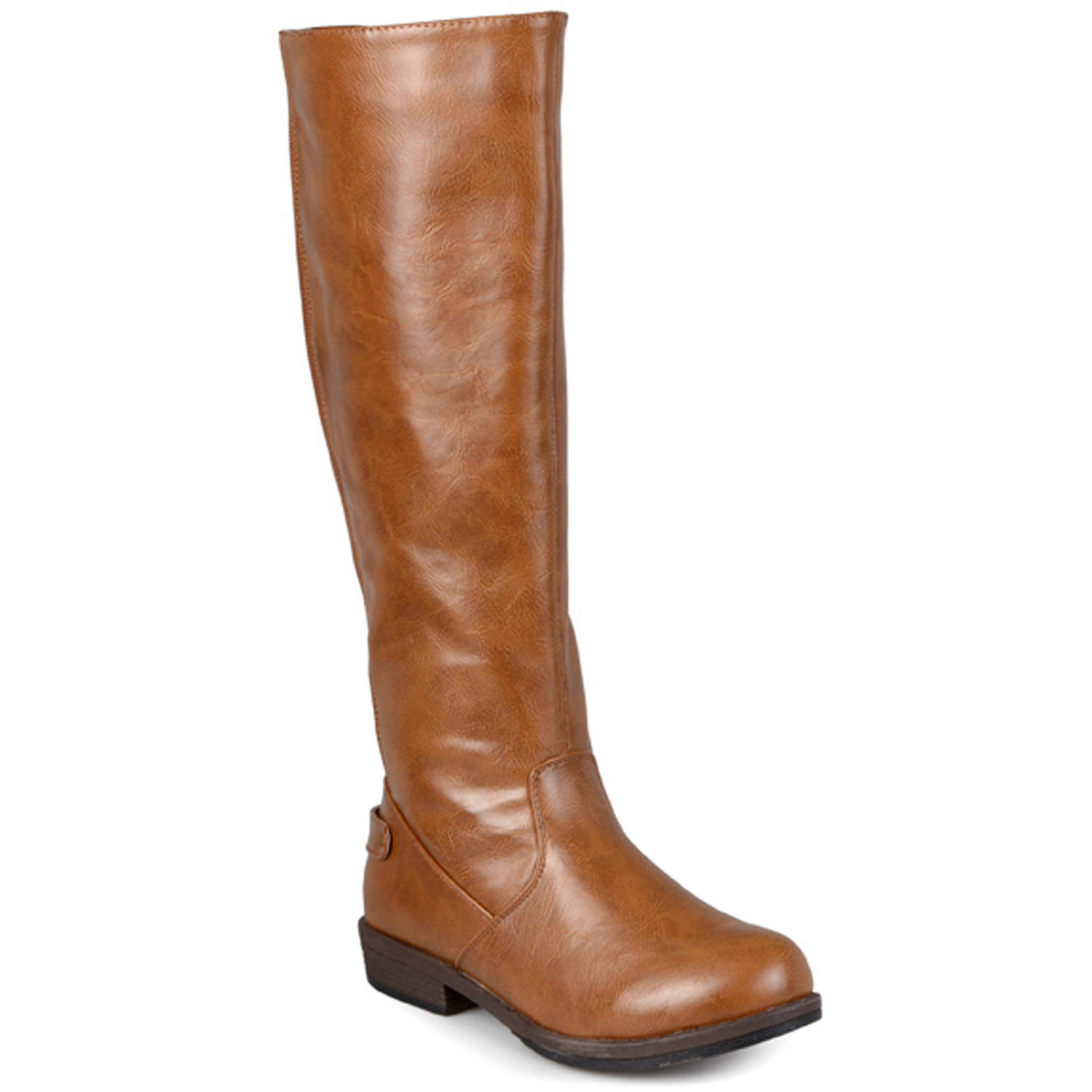 Brinley Co. Women's Wide-Calf Knee-High Stretch Riding Boot
