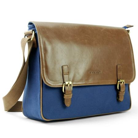 - Lavievert Padded Messenger Bag Cross Shoulder Bag for 13