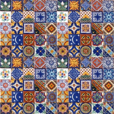100 Hand Painted Talavera Mexican Tiles 2