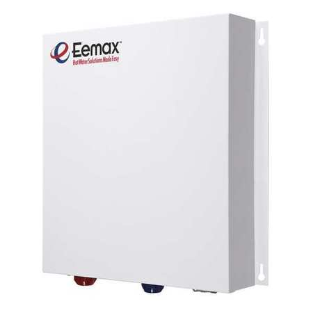 "EEMAX Tankless Water Heater,112 Amps AC,17"" W PR027240"