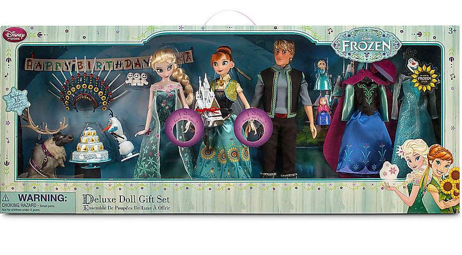 """Disney Frozen Frozen Fever Deluxe Doll Gift Set Exclusive 12"""" by Disney"""