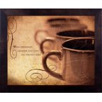 Framed Art-Warm Friendship (10 X 12) (Life Verse Design)