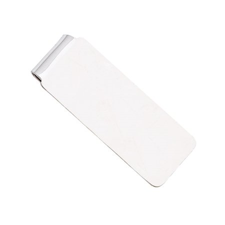 Mens Money Clip In Sterling Silver