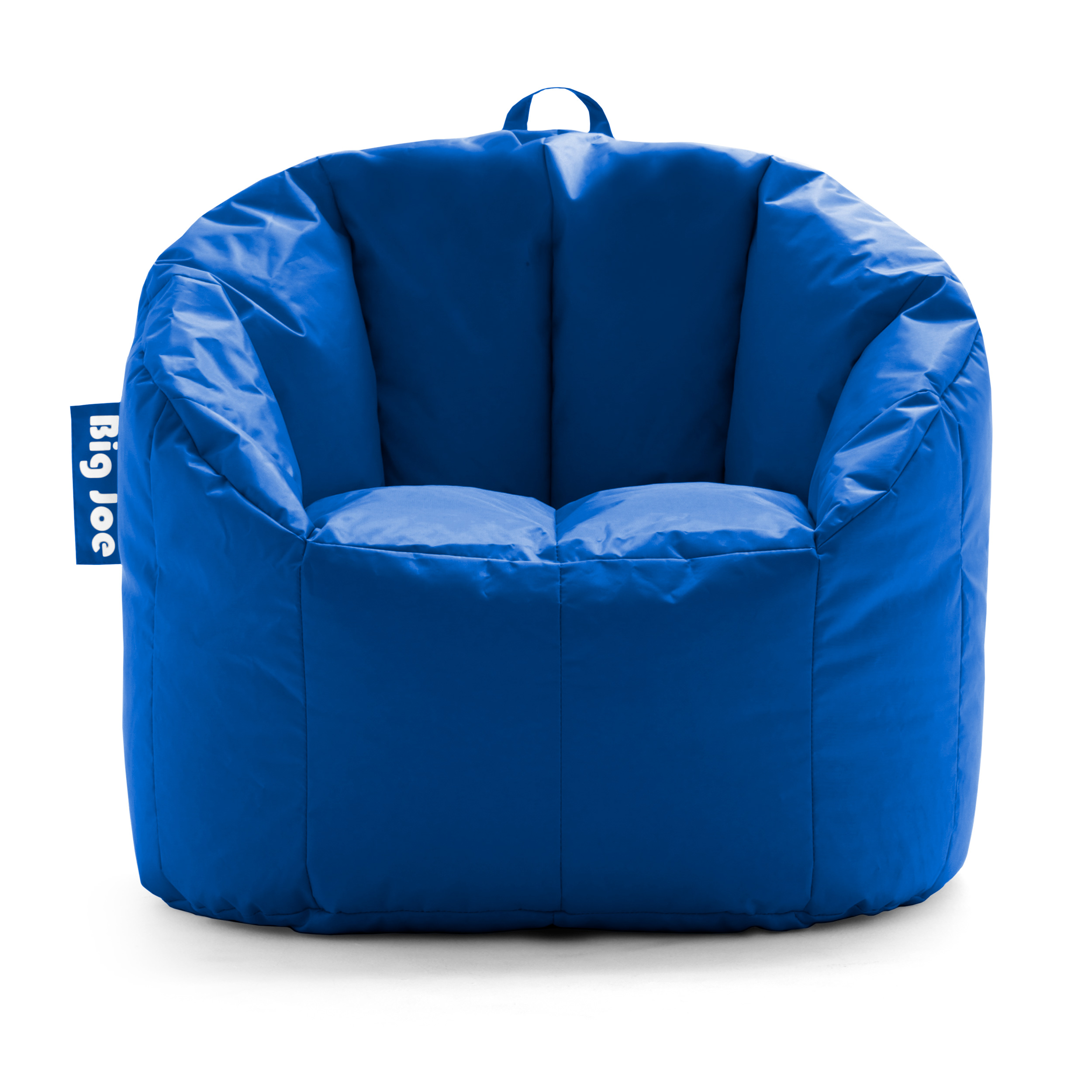 Pleasing Details About Big Joe Milano Bean Bag Chair Soft Cozy Comfortable Lightweight Kids Adult Blue Ibusinesslaw Wood Chair Design Ideas Ibusinesslaworg