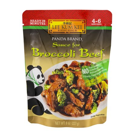 (3 Pack) Lee Kum Kee Panda Brand Sauce for Broccoli Beef, 8.0 OZ