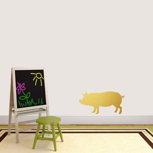 Sweetums Wall Decals Pig Silhouette Wall Decal