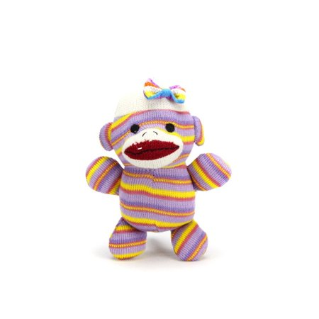 Annie From, Baby sock monkey measuring 7 inches tall. By Sock Monkey Family - Baby Sock Monkey
