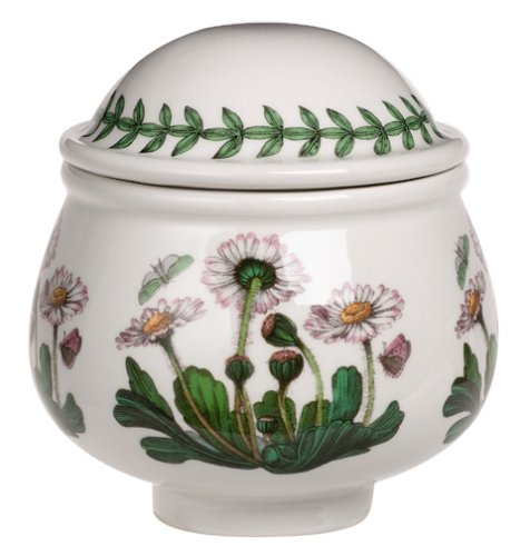 Botanic Garden Covered Sugar Bowl, Botanic Garden covered sugar bowl, 3-1 4 inches high By Portmeirion by