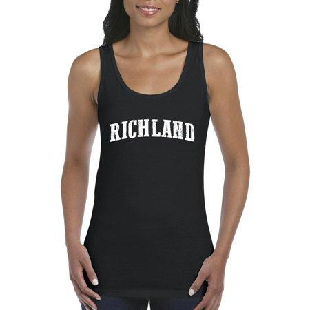 Artix - Richland Washington Tank Top Home of University of ... 9d98c7296