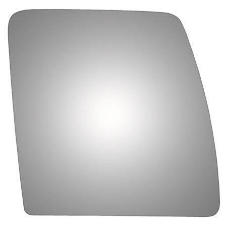 Burco 4441 Passenger Side Replacement Mirror Glass for Nissan NV - Nissan Passenger Side Bumper