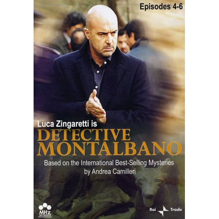 Detective Montalbano: Episodes 4-6 (DVD) - Chopped Halloween Episode Food Network