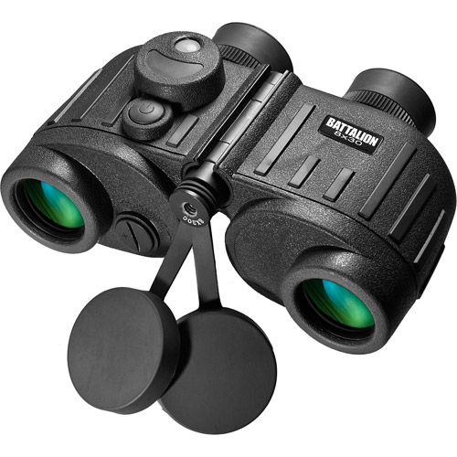 Barska 8x30 WP Battalion Binoculars with Internal Rangefinder and Compass
