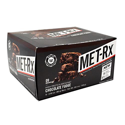 MET-Rx High Protein Brownie - Chocolate Fudge - 9 - 2.82 ...