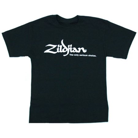 All Blacks Rugby Jersey - Zildjian Cymbals Classic Black Tee T-Shirt - All Sizes!