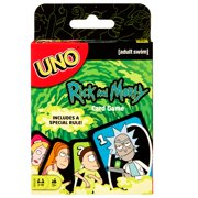 UNO Rick and Morty Animated Series Adult Card Game with 112 Cards