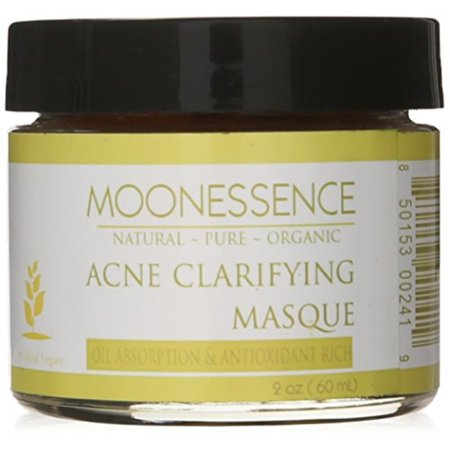 moonessence acne clarifying red clay masque, 5 ounce