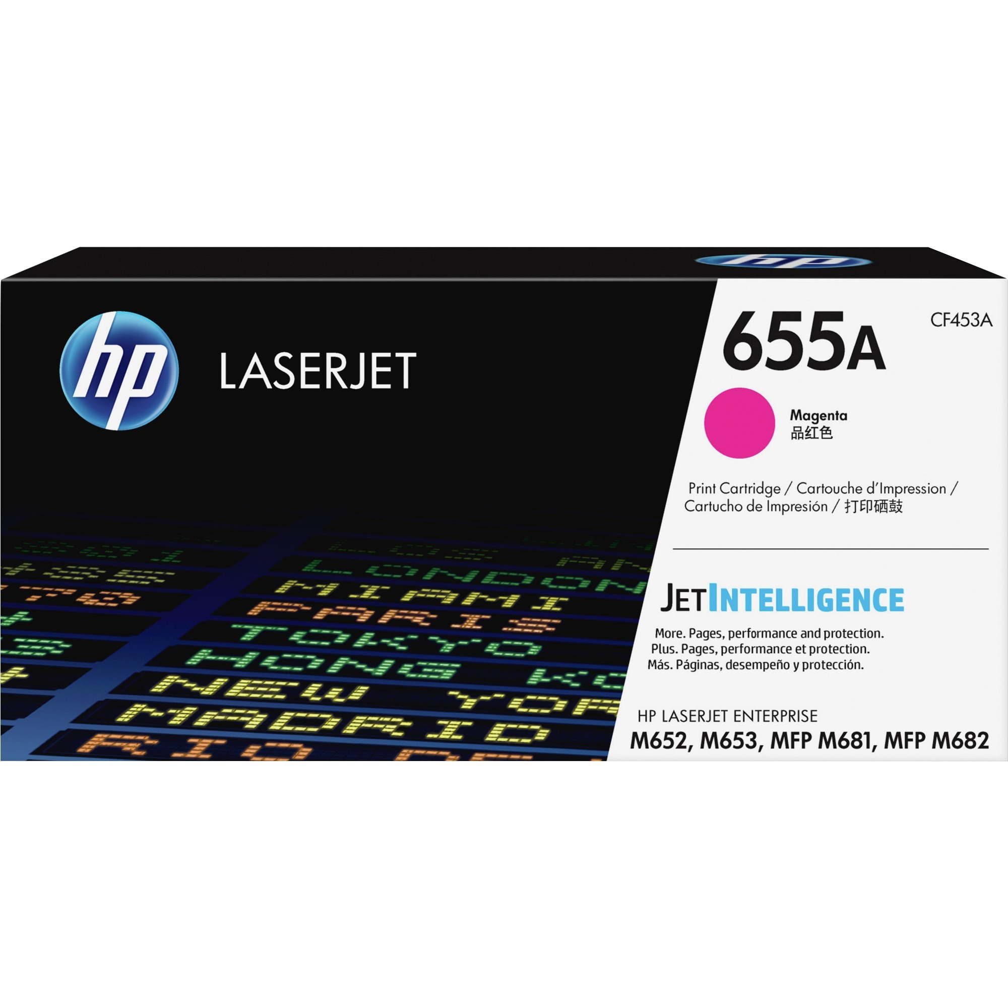 HP 655A (CF453A) Magenta Original LJ Toner Cartridge