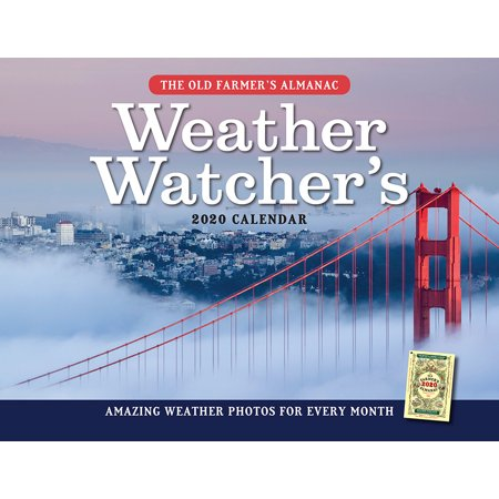 Old Farmer's Almanac: The 2020 Old Farmer's Almanac Weather Watcher's Calendar