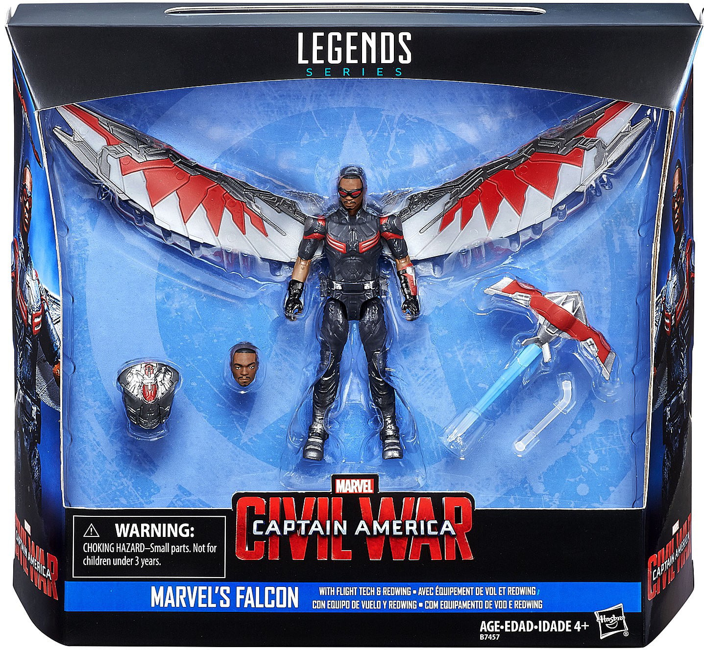 """Falcon Marvel Avengers Legends Comic Heroes 7/"""" Action Figure Toys Kids Gifts"""