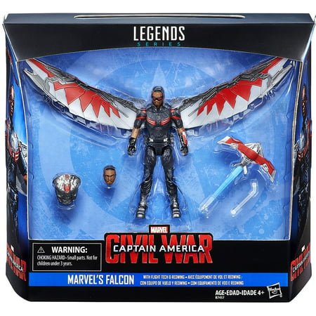 Modern Marvels Halloween Tech (Marvel Legends Series Falcon with Flight Tech and Redwing,)
