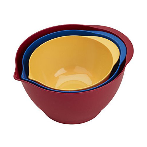 BRADSHAW INTERNATIONAL 11620 3Piece Mixing Bowl Set
