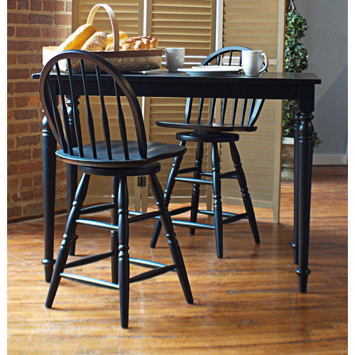 Carolina Cottage Hawthorne 3 Piece Counter Height Dining Set