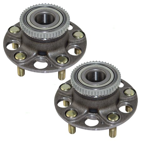 Pair of Rear Wheel Hub Bearings Replacement for Honda Accord Acura TL 42200-SDA-A51 Acura Tl Fender Replacement