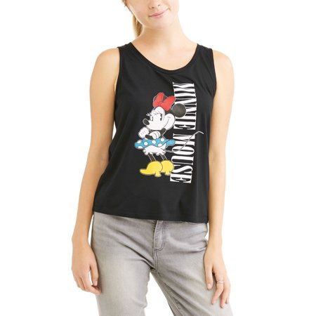Minnie Mouse Juniors' Classic Cartoon Graphic Hi-Lo Tank