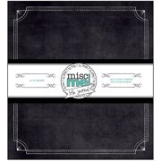 "Misc Me Binder Life Journal, 8"" x 9"", Black"
