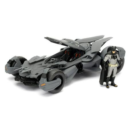 HOLLYWOOD RIDES 1:24 DIE CAST METAL BATMAN VS SUPERMAN BATMOBILE BY JADA TOYS - Batman Diy