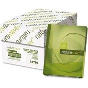 Nature Saver Copy & Multipurpose Paper - 50%, White, 5000 / Carton (Quantity)