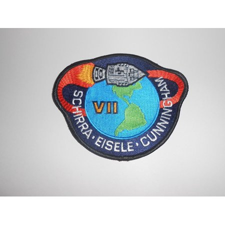 Apollo 7 Mission Patch Official Space Program Schirra ...