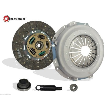 Clutch Kit Works With Ford F Super Duty F250 F350 F53 Base XL XLT Special Eddie Custom XLT Lariat 1987-1997 7.5L V8 GAS OHV Naturally Aspirated (Exc Stripped Chassis) Ford F53 Motorhome Chassis