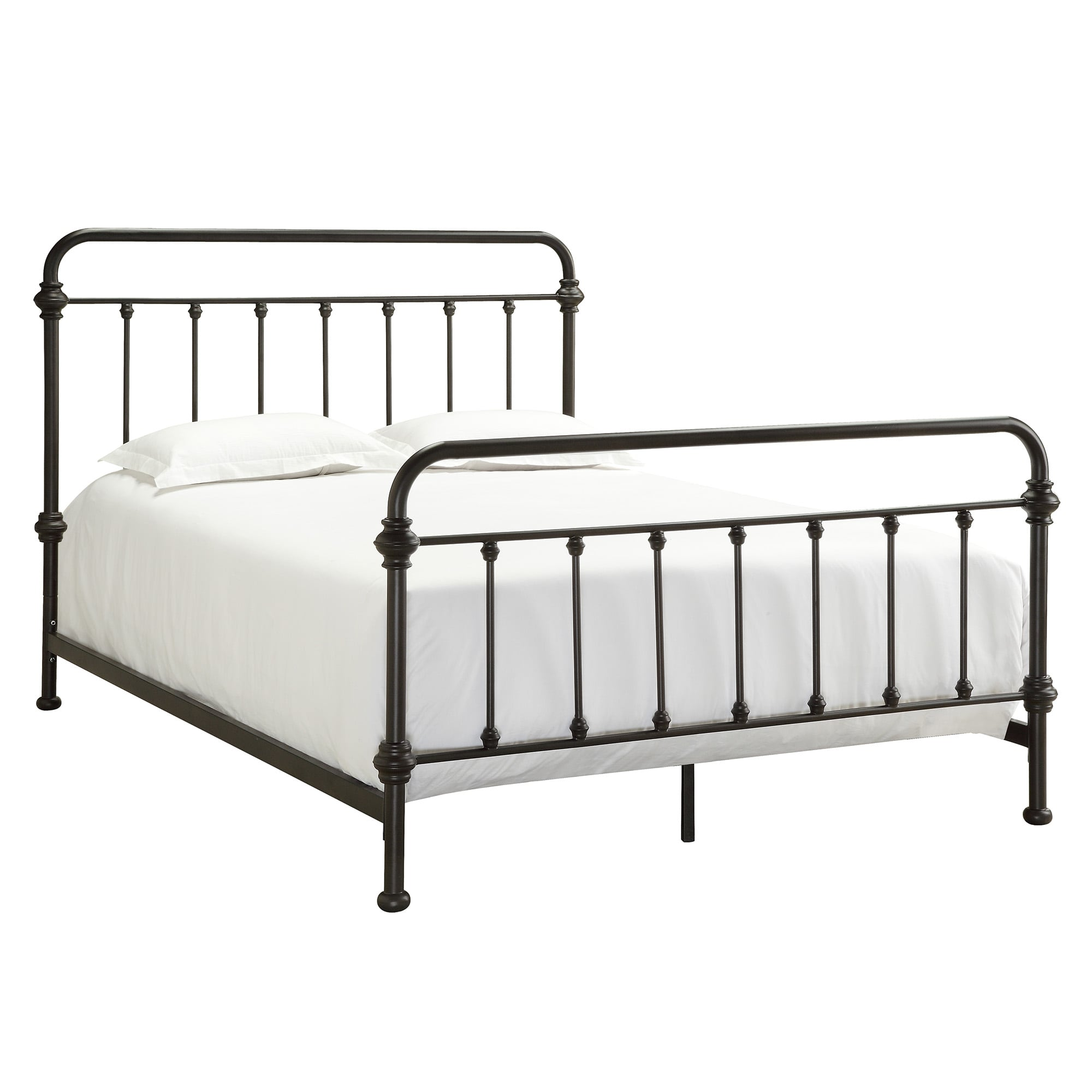 Weston Home Nottingham Metal Bed, Multiple Sizes And Colors by Weston Home