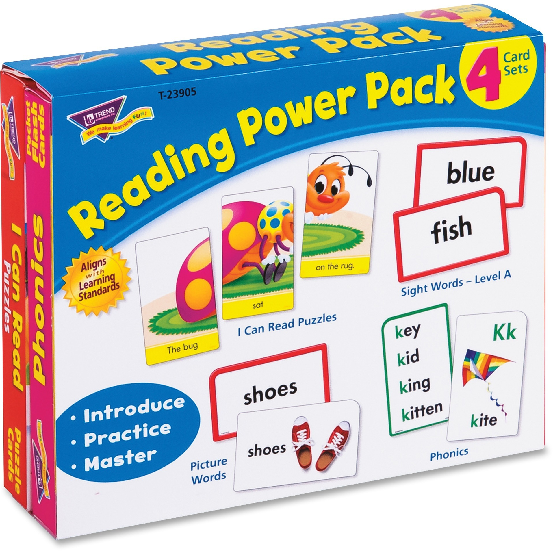 Trend, TEP23905, Level A Reading Power Pack, 56 / Pack