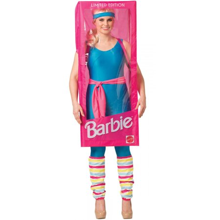 Fragile Box Halloween Costume (Women's Barbie Box Costume)
