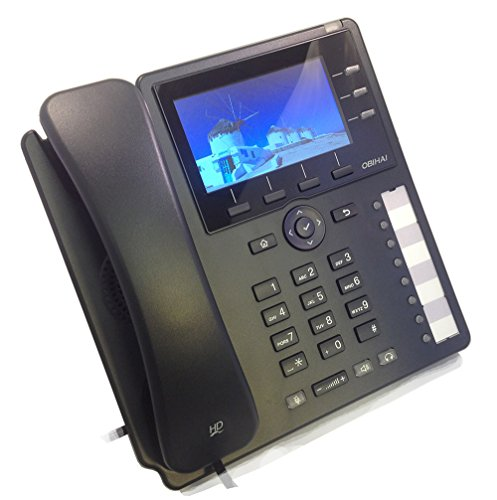 Obihai Ip Phone With Power Supply - Up To 12 Lines - Support For Google Voice And Sip-based Services - 12 X Total Line - Voip - Caller Id - Speakerphone - 2 X Network [rj-45] - Usb - Poe (obi1032pa)